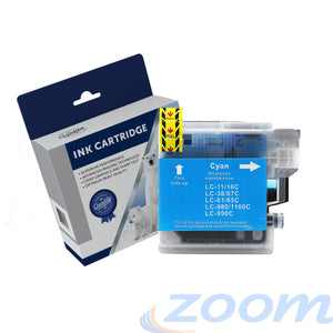 Premium Compatible Brother LC38C-LC67C Cyan Ink Cartridge
