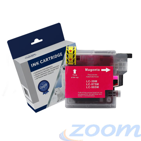 Premium Compatible Brother LC39M Magenta High Yield Ink Cartridge
