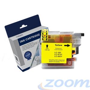 Premium Compatible Brother LC39Y Yellow High Yield Ink Cartridge