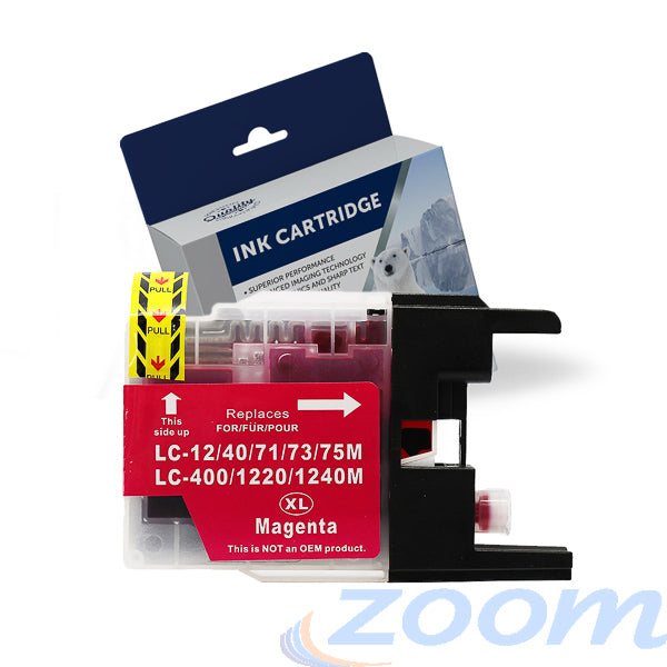 Premium Compatible Brother LC40M-LC73M Magenta High Yield Ink Cartridge
