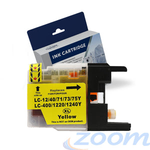 Premium Compatible Brother LC40Y-LC73Y Yellow High Yield Ink Cartridge