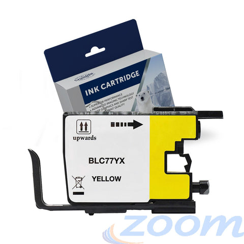 Premium Compatible Brother LC77XLY Yellow High Yield Ink Cartridge
