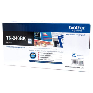 Brother TN-240BK Black Toner Cartridge