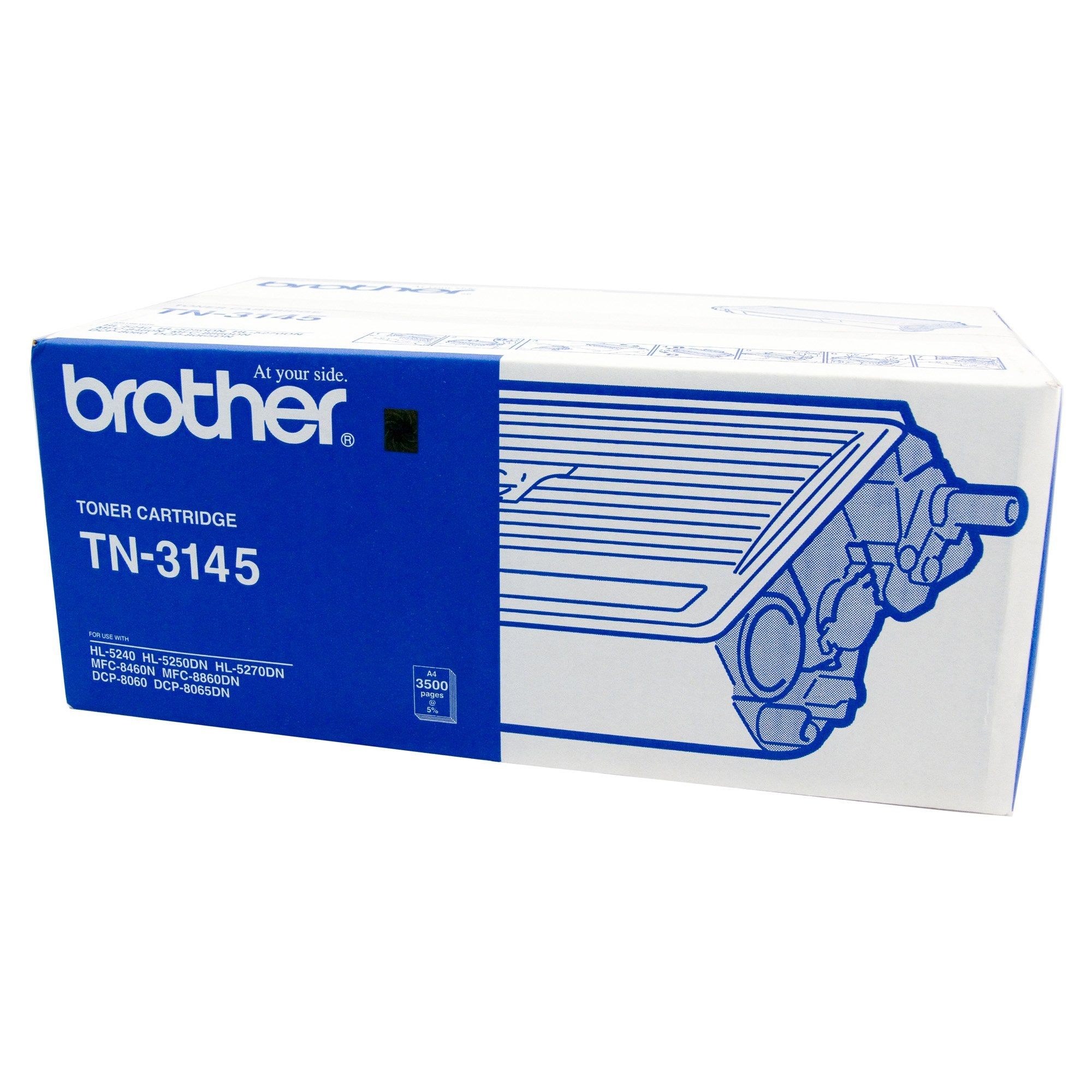 Brother TN-3145 Black Toner Cartridge