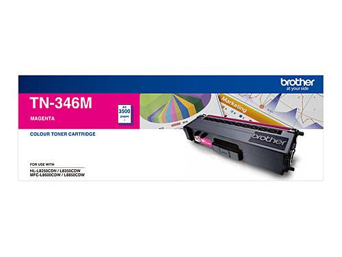 Brother TN-346M Magenta Toner Cartridge