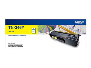 Brother TN-346Y Yellow Toner Cartridge