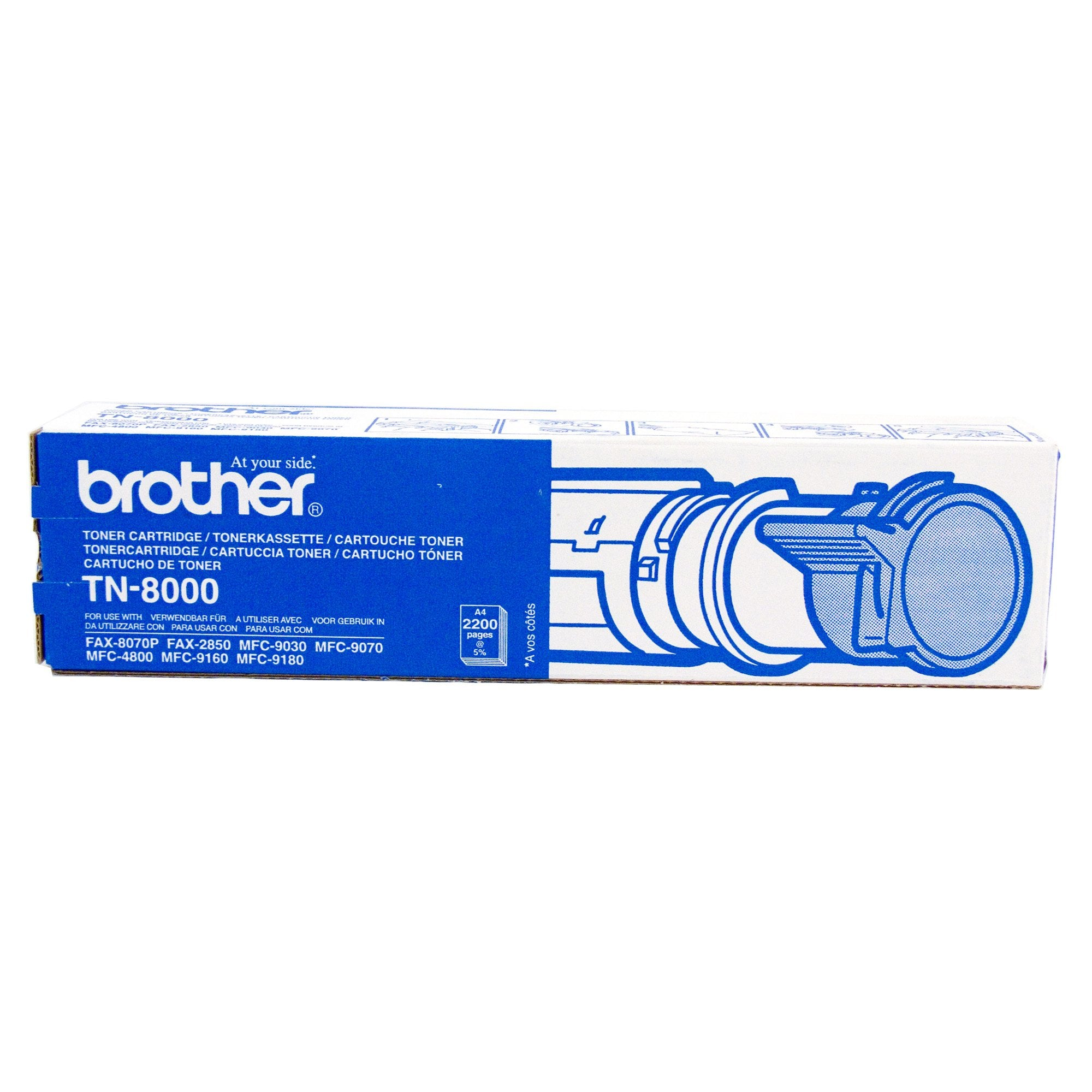 Brother TN-8000 Black Toner Cartridge