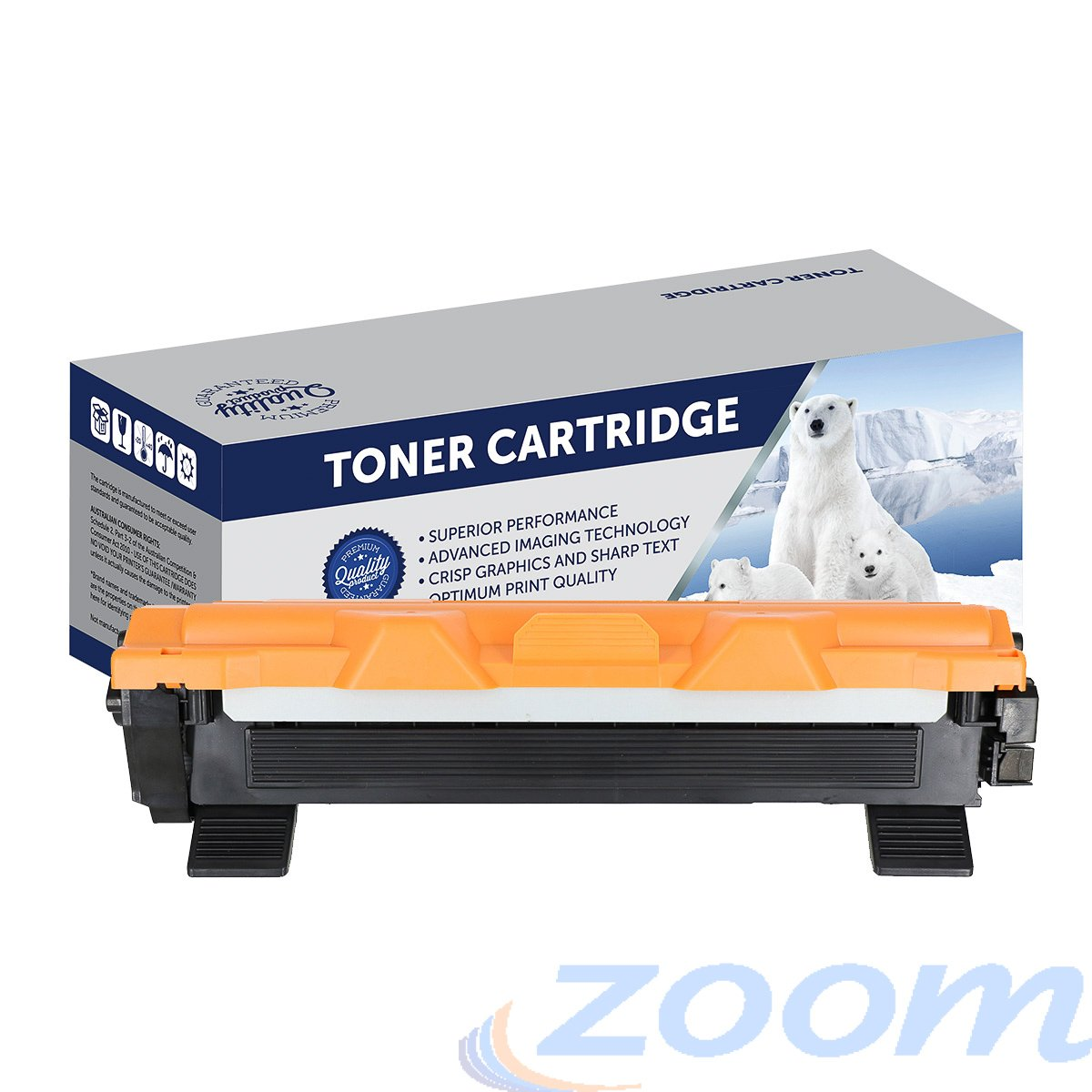 Premium Compatible Brother TN1070 Mono Laser High Yield Toner