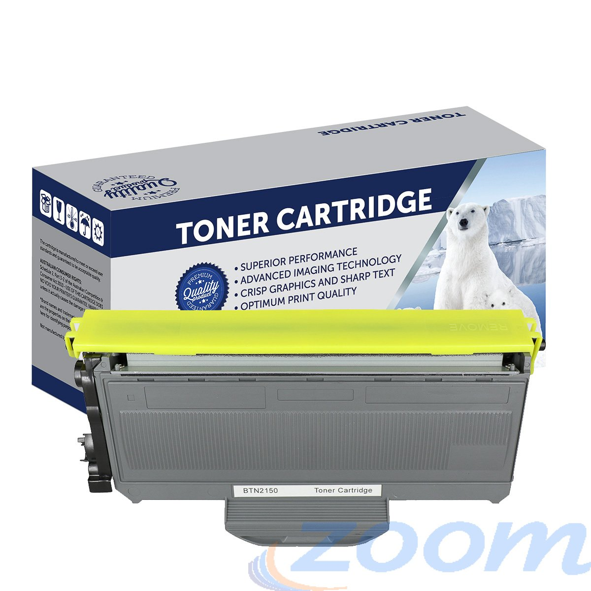 Premium Compatible Brother TN2150, TN2130 Mono Laser High Yield Toner Cartridge