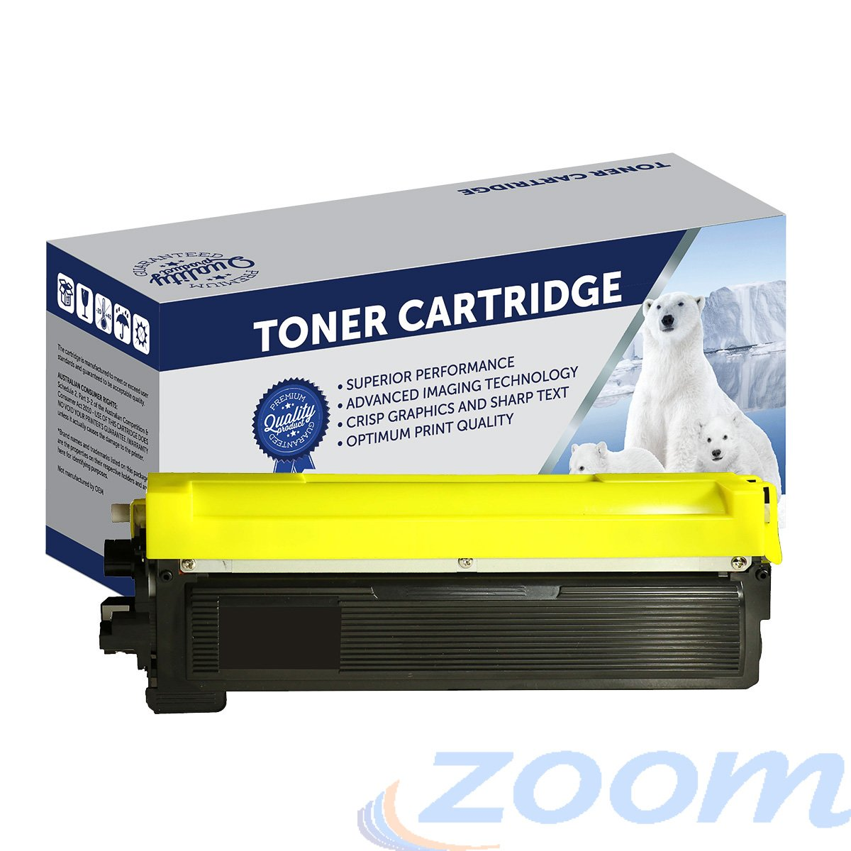 Premium Compatible Brother TN240BK Black Laser Toner