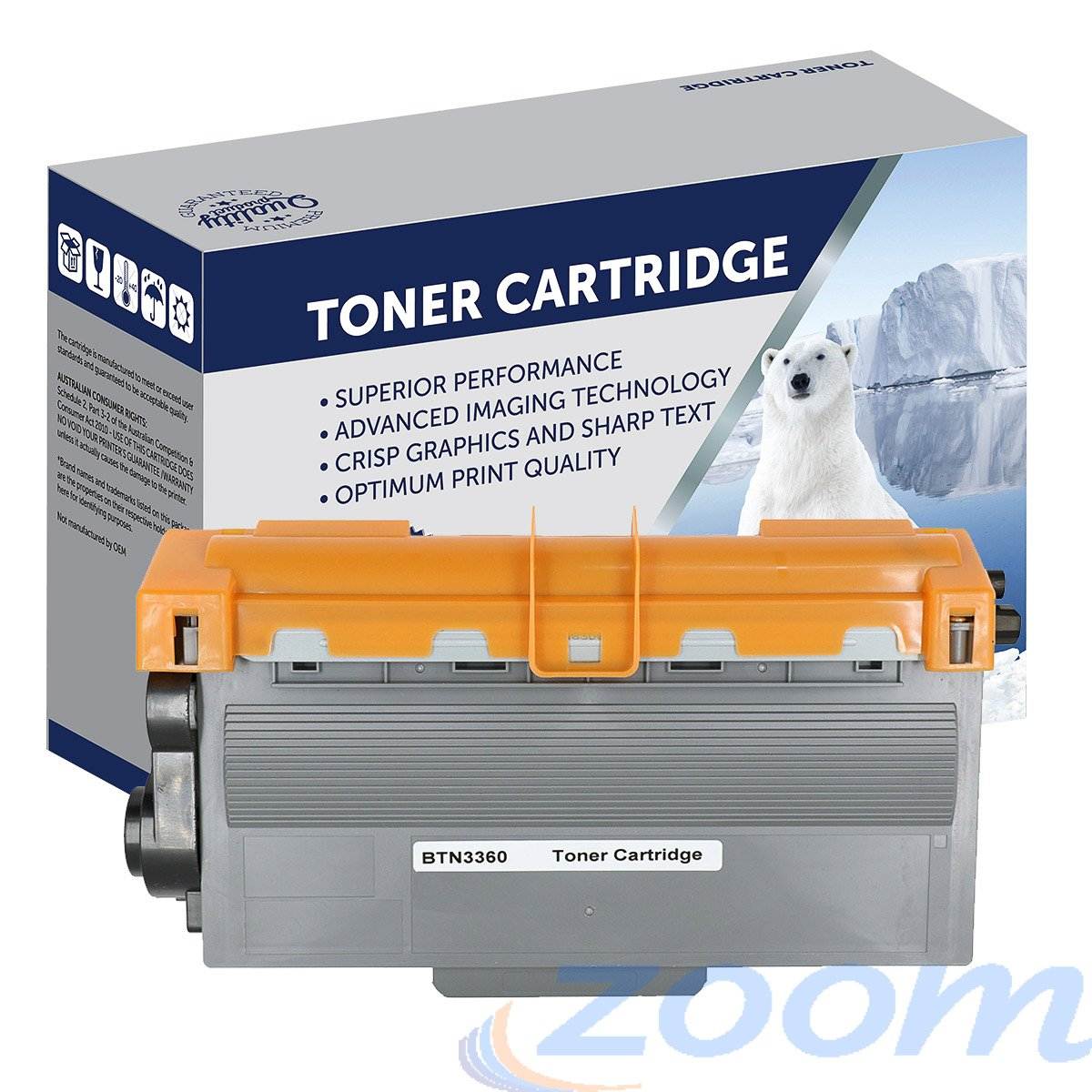 Premium Compatible Brother TN3360 Mono Laser Extra High Yield Toner