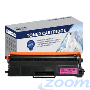 Premium Compatible Brother TN346M, TN341M Magenta High Yield Toner Cartridge