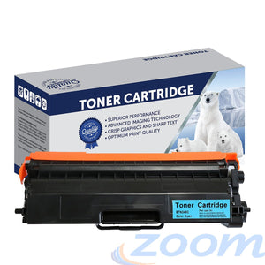 Premium Compatible Brother TN349C,  Cyan High Yield Laser Toner