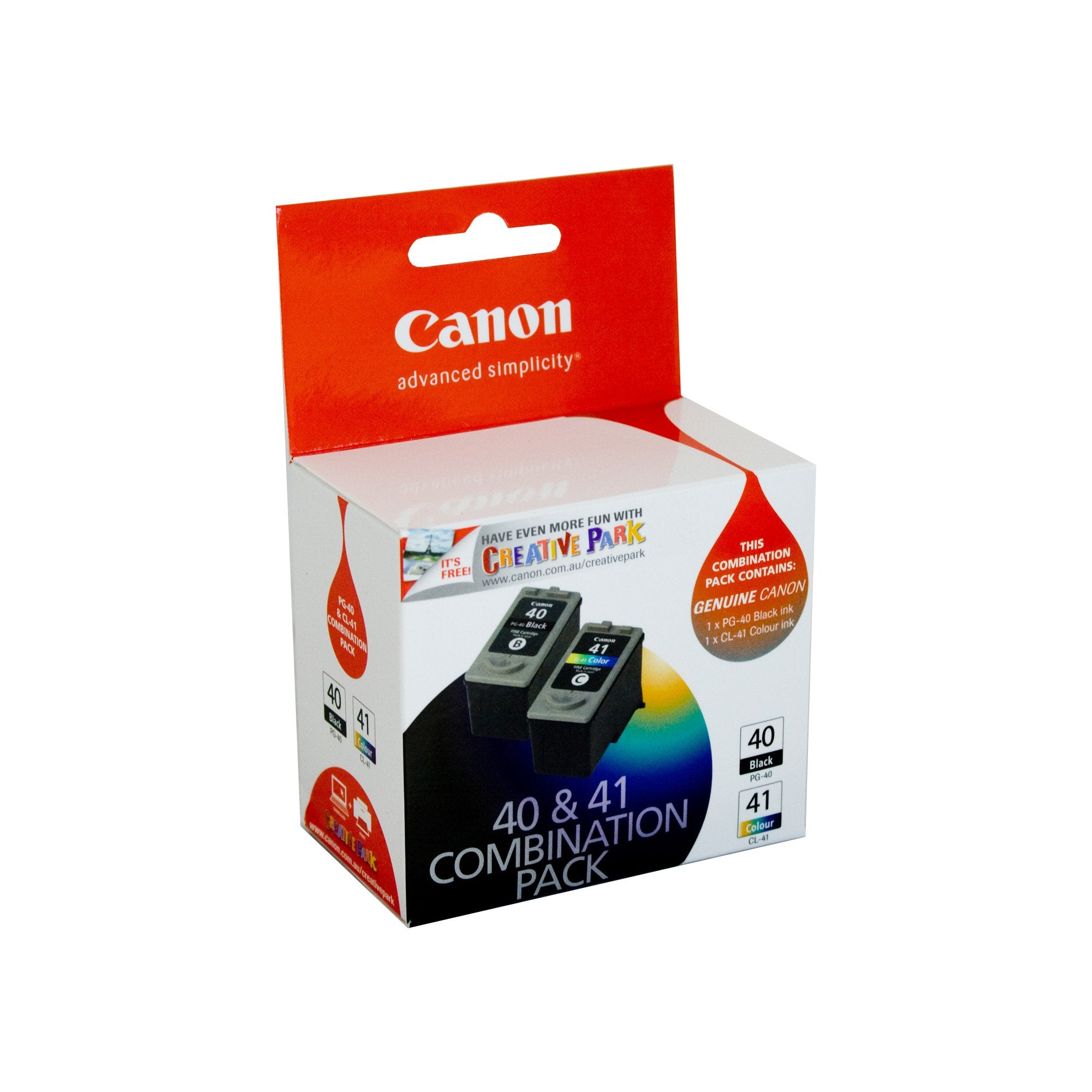 Canon PG40CL41CP Colour Ink Cartridge