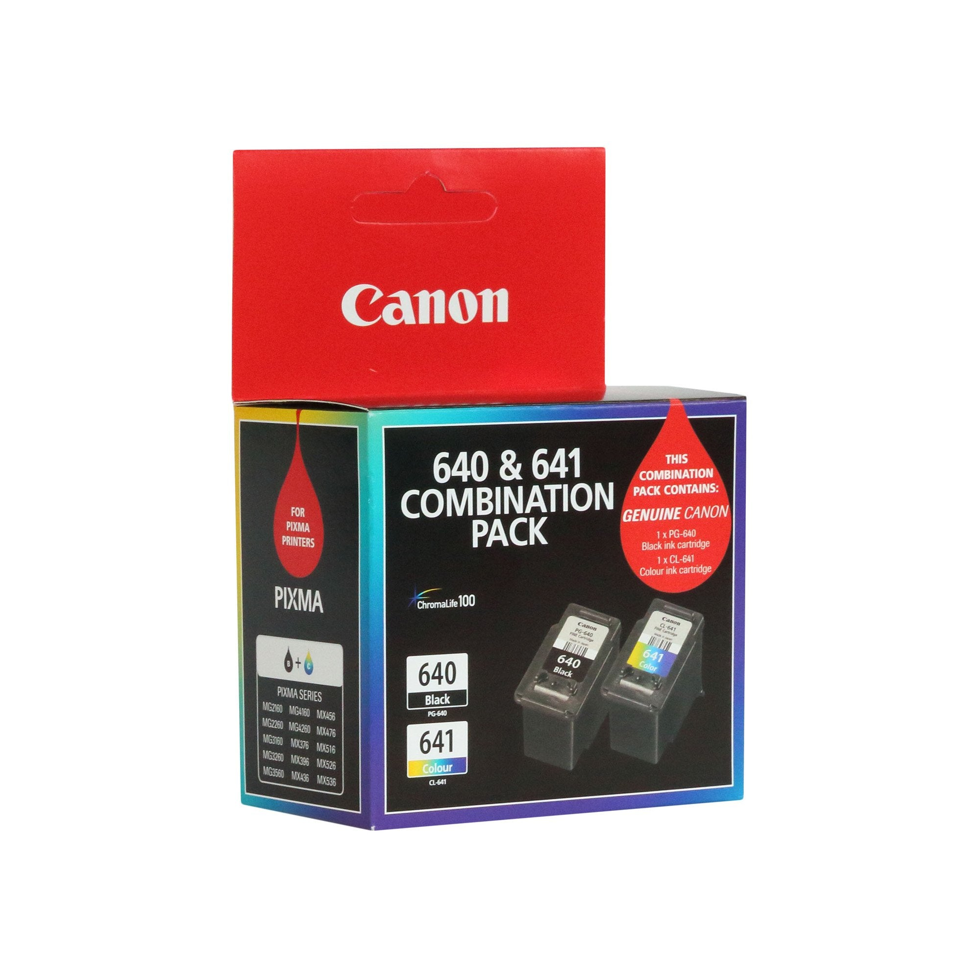 Canon PG640CL641CP Colour Ink Cartridge
