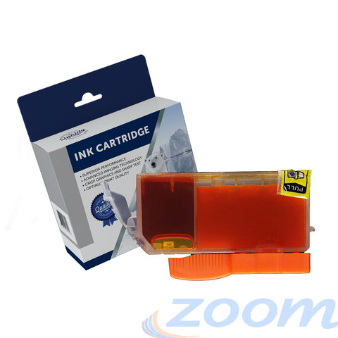 Premium Compatible Canon CLI521Y Yellow Ink Cartridge