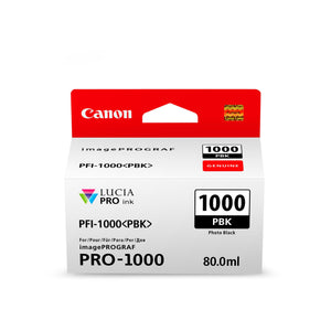 Canon PFI1000PBK Photo Black Ink Cartridge
