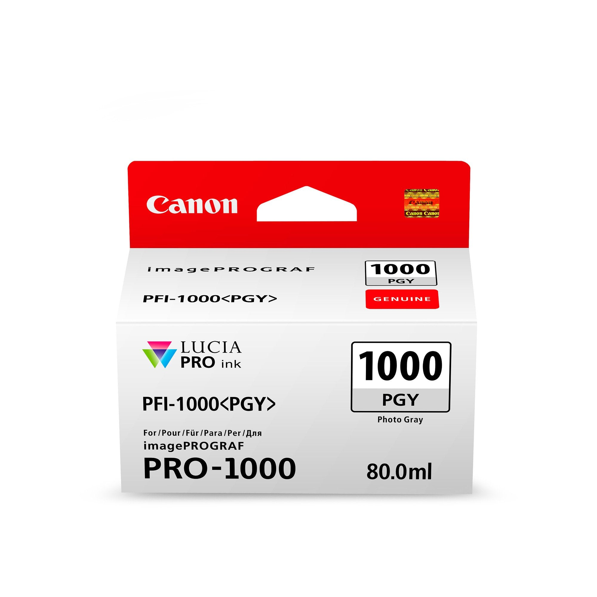 Canon PFI1000PGY Grey Ink Cartridge