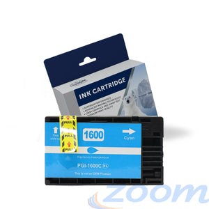 Premium Compatible Canon PGI1600XLC Cyan High Yield Ink Cartridge