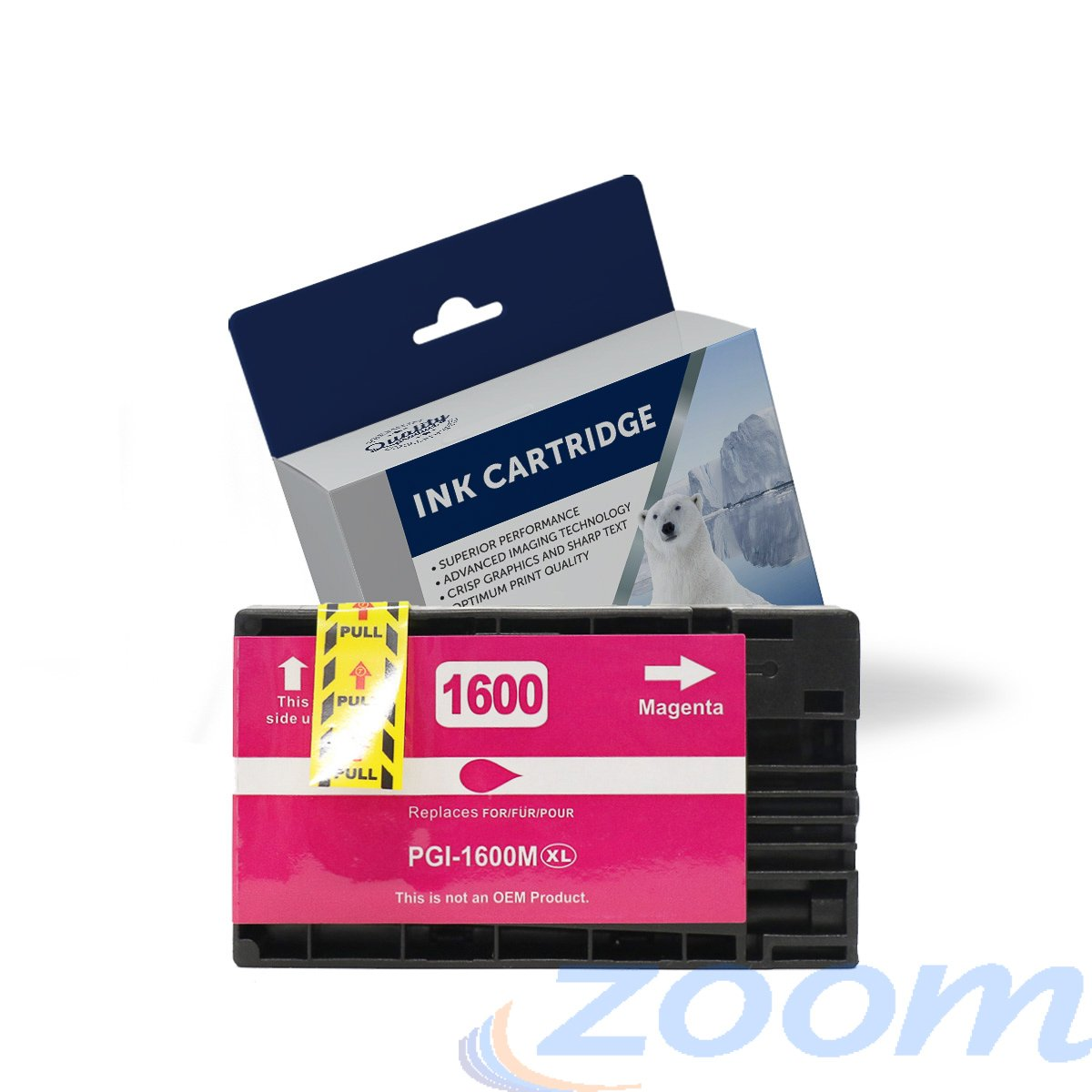 Premium Compatible Canon PGI1600XLM Magenta High Yield Ink Cartridge
