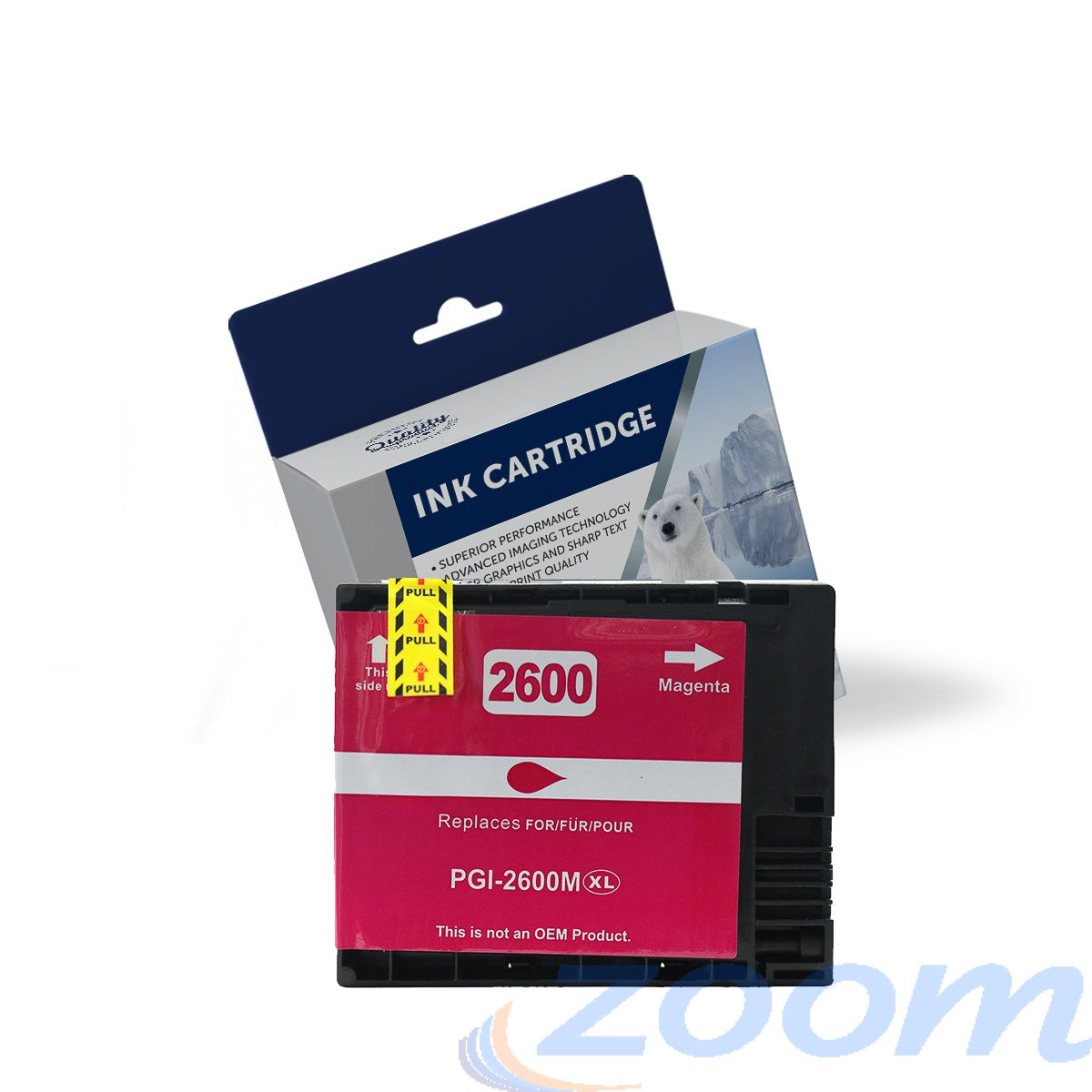 Premium Compatible Canon PGI2600XLM Magenta High Yield Ink Cartridge