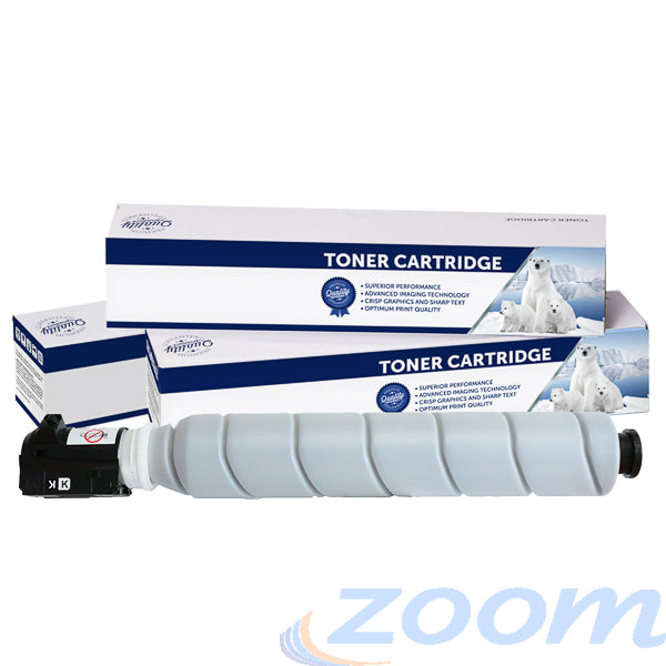 Premium Compatible Canon TG65B, GPR51 Black Toner Cartridge