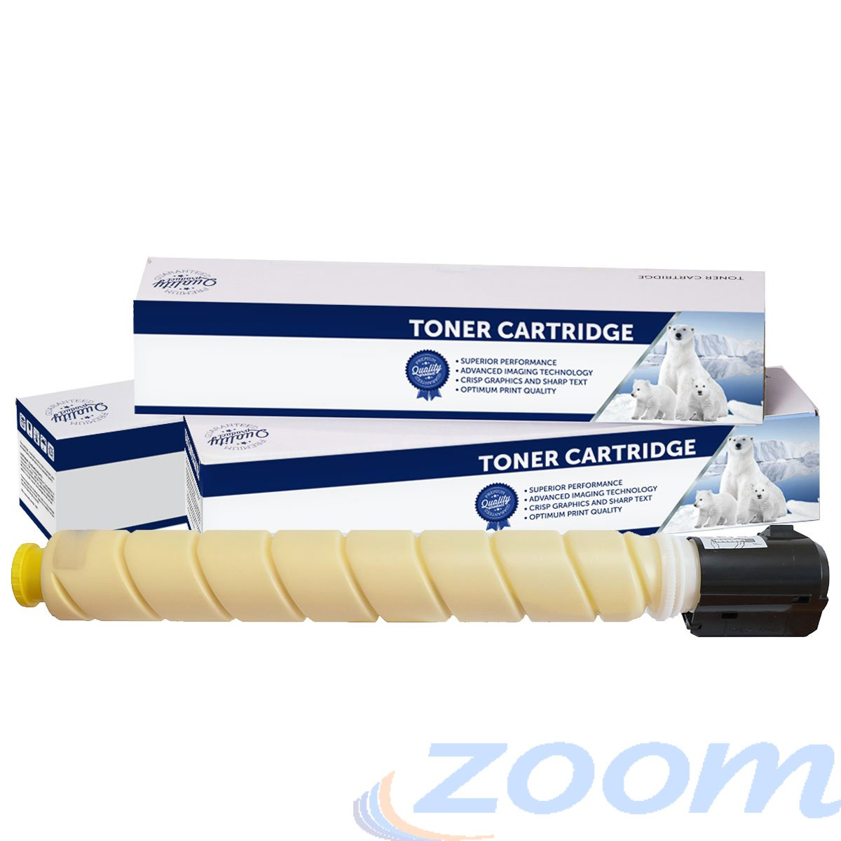 Premium Compatible Canon TG65Y, GPR51 Yellow Toner Cartridge