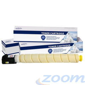 Premium Compatible Canon TG67Y Yellow Toner Cartridge