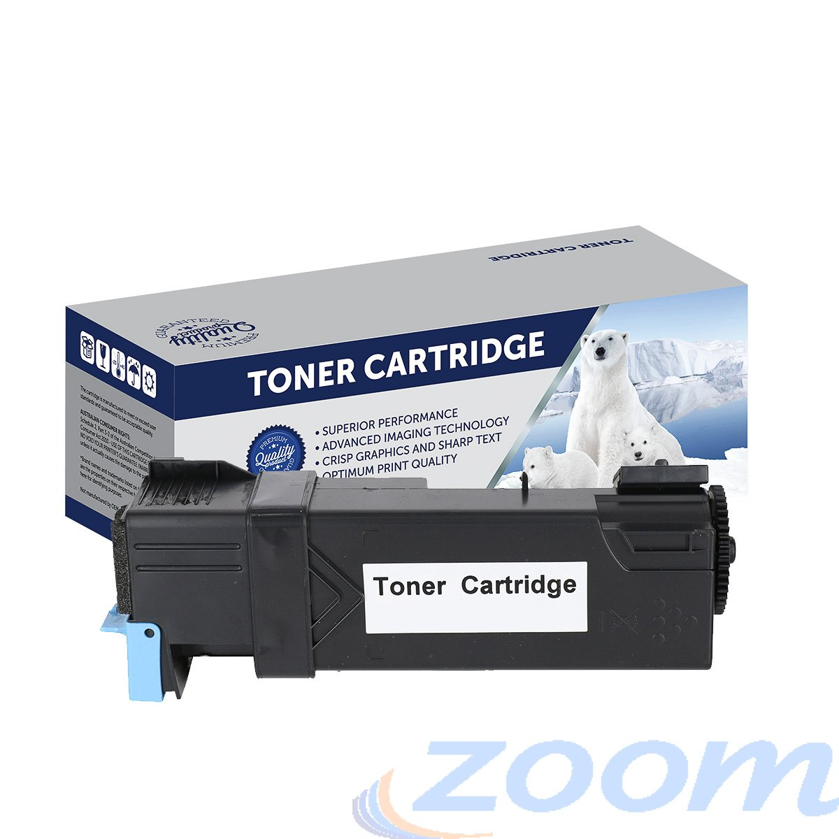 Premium Compatible Dell 59211624 Cyan High Yield Toner Cartridge