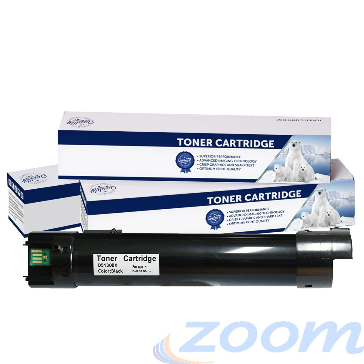 Premium Compatible Dell 59211516, 59211512 Black High Yield Toner Cartridge