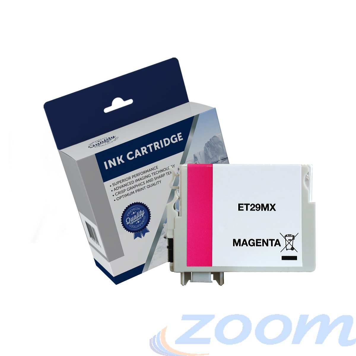 Premium Compatible Epson C13T299392, 29XL Magenta High Yield Ink Cartridge