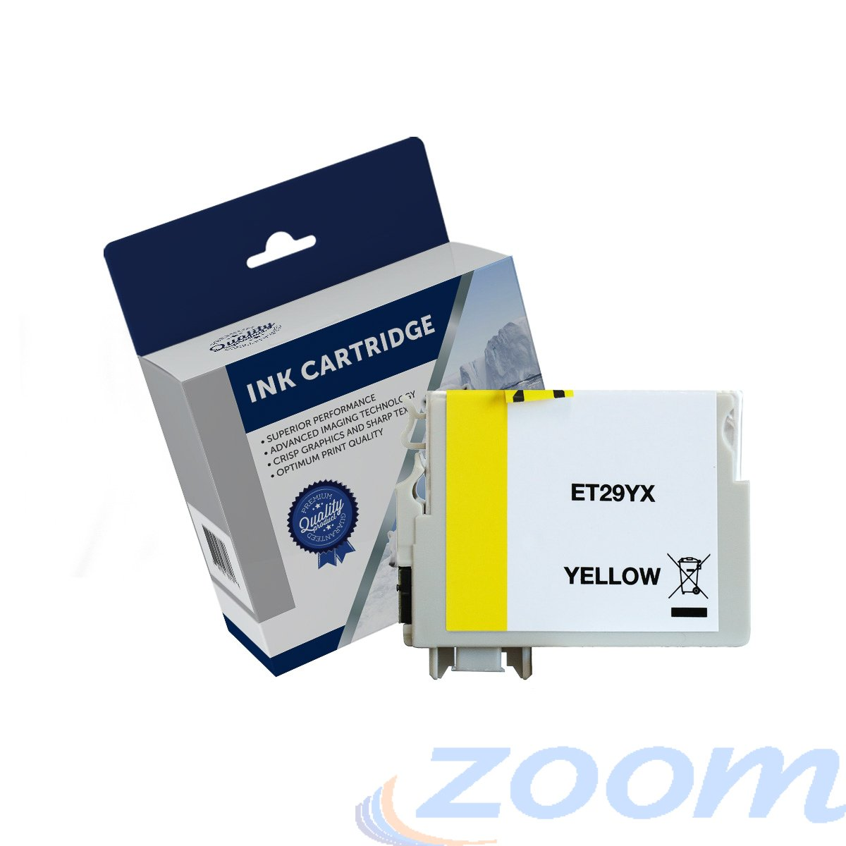 Premium Compatible Epson C13T299492, 29XL Yellow High Yield Ink Cartridge