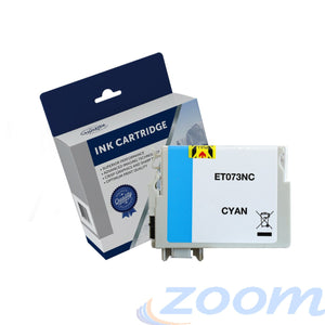 Premium Compatible Epson C13T105292, 73N Cyan Ink Cartridge