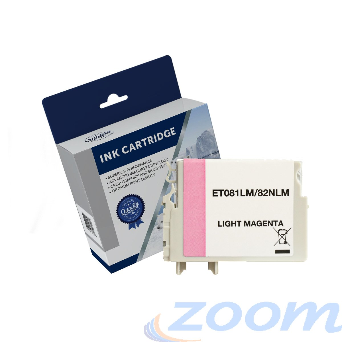Premium Compatible Epson C13T112692, 82N Light Magenta Ink Cartridge