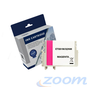 Premium Compatible Epson C13T111392, 81N Magenta Ink Cartridge