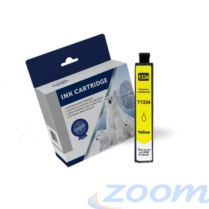 Premium Compatible Epson C13T133492, 133 High Yield Yellow Ink Cartridge