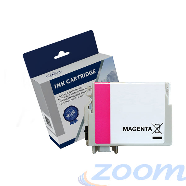 Premium Compatible Epson C13T140392, 140 High Yield Magenta Ink Cartridge