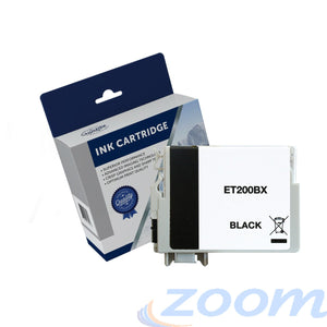Epson C13T201192, 200XL Black High Yield Ink Cartridge