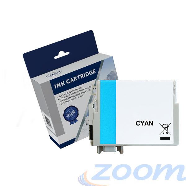 Premium Compatible Epson C13T294292, 220XL Cyan High Yield Ink Cartridge