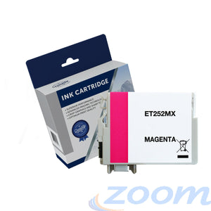 Premium Compatible Epson C13T253392, 252XL Magenta High Yield Ink Cartridge