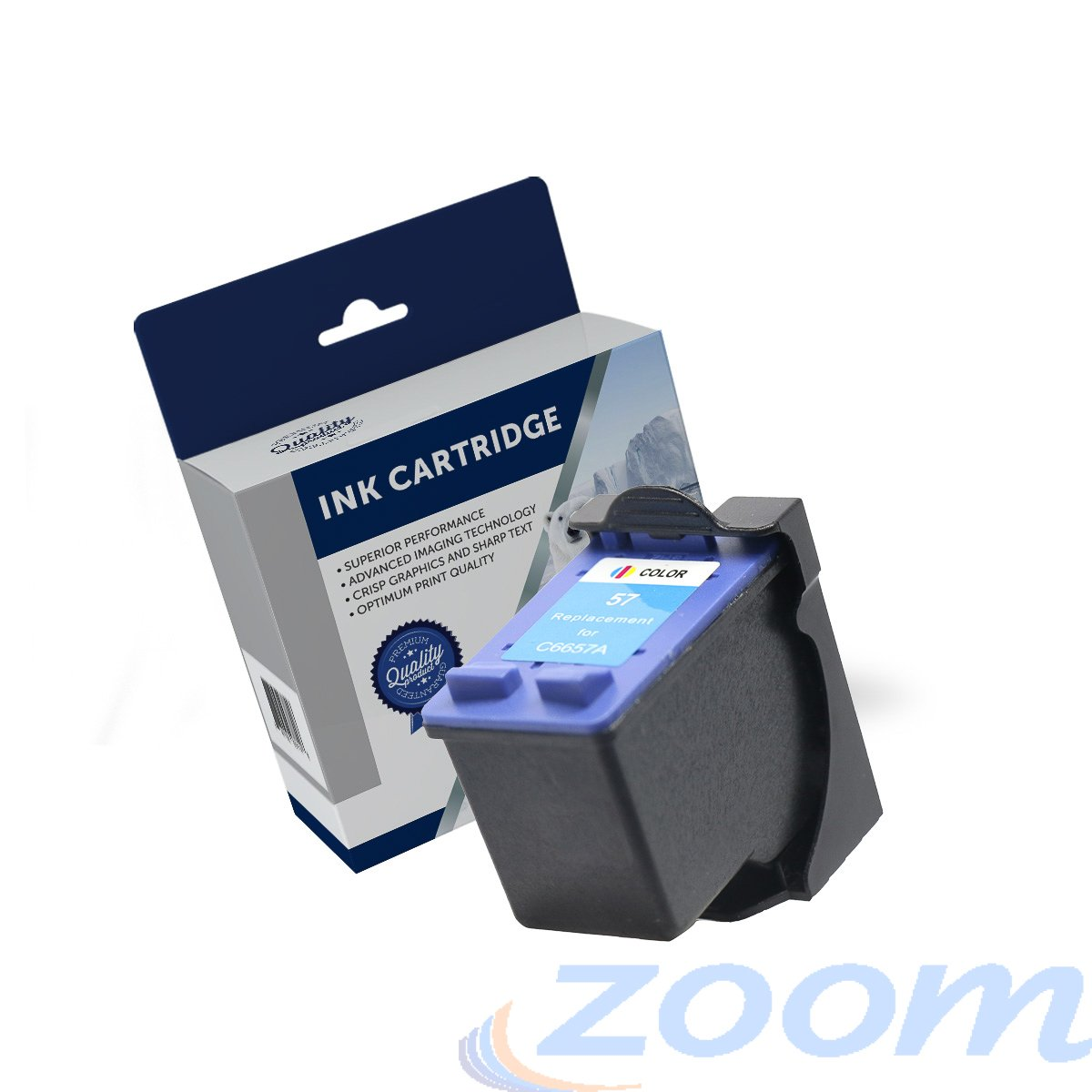 Premium Compatible HP C6657AA, #57 TriColour Ink Cartridge