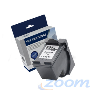 Premium Compatible HP CC653AA, #901 Black Ink Cartridge