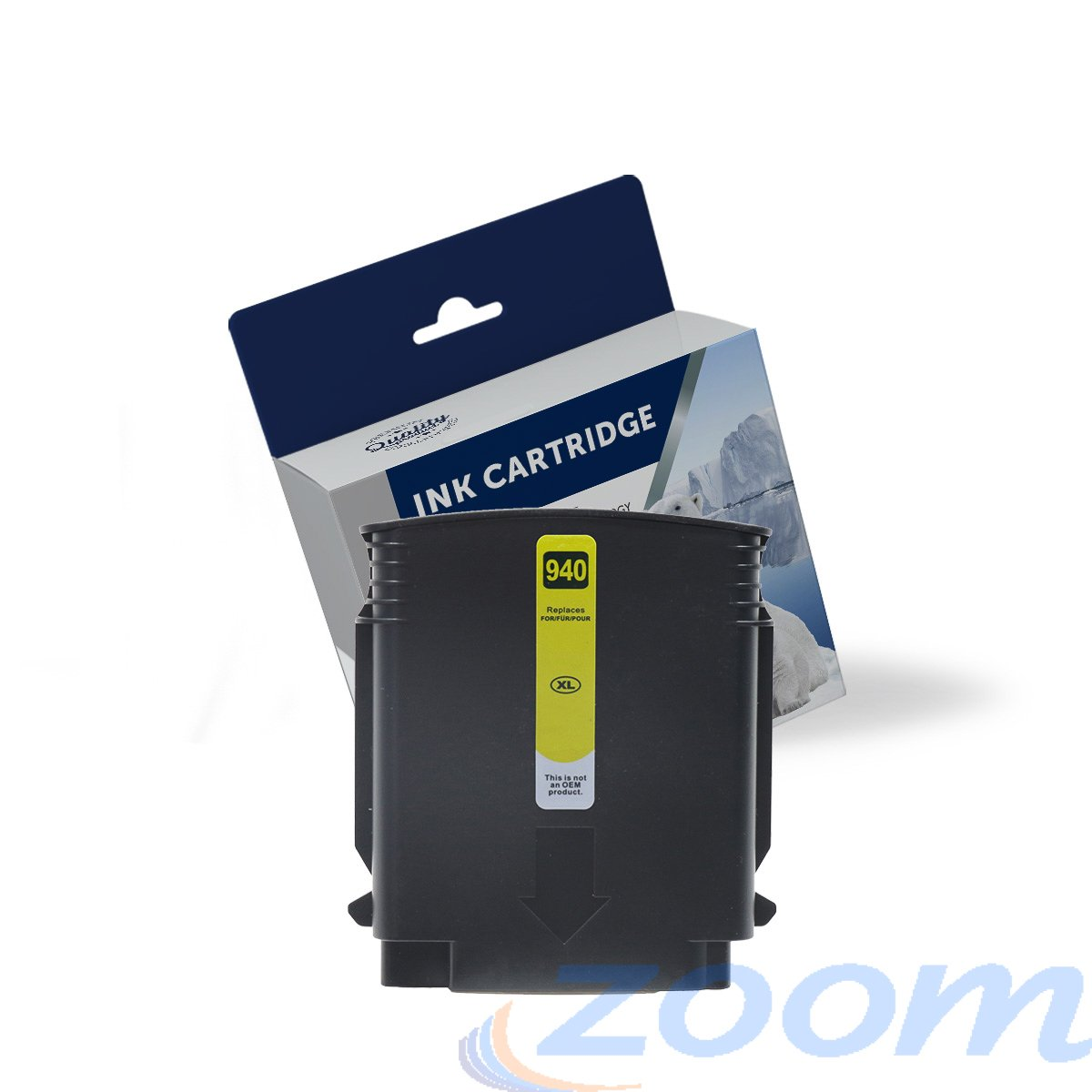 Premium Compatible HP C4909AA, #940XL Yellow High Yield Ink Cartridge