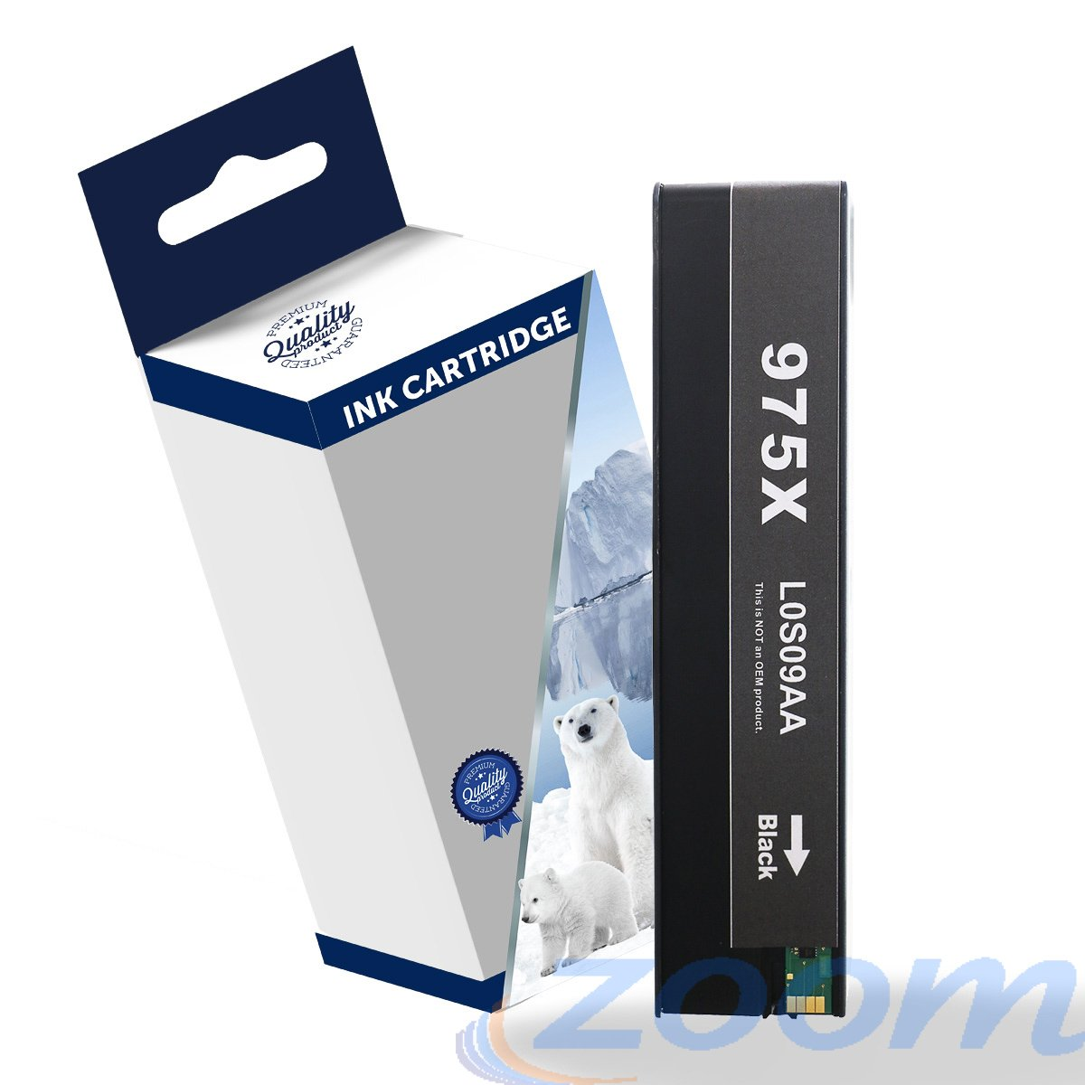 Premium Compatible HP L0S09AA, #975XL Black High Yield Ink Cartridge