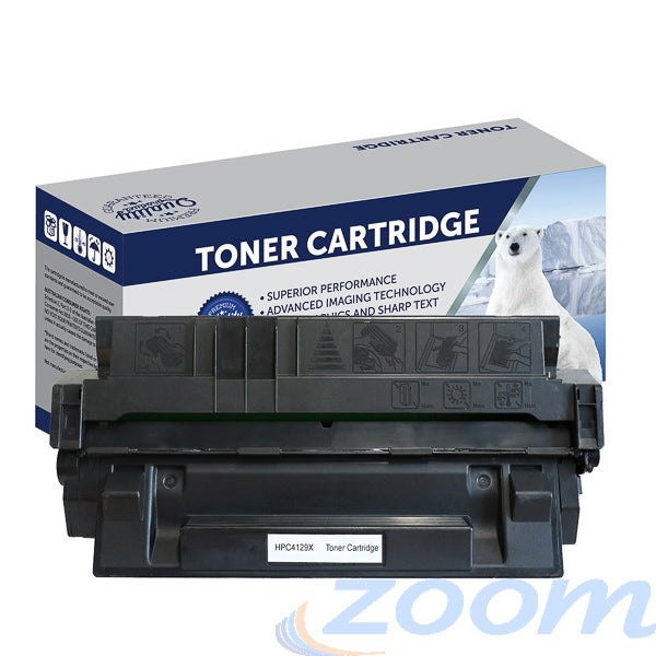 Premium Compatible HP C4129X, #29X Mono High Yield Toner Cartridge