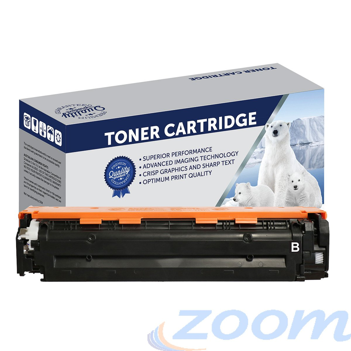 Premium Compatible HP CF210X, #131X Black High Yield Toner Cartridge