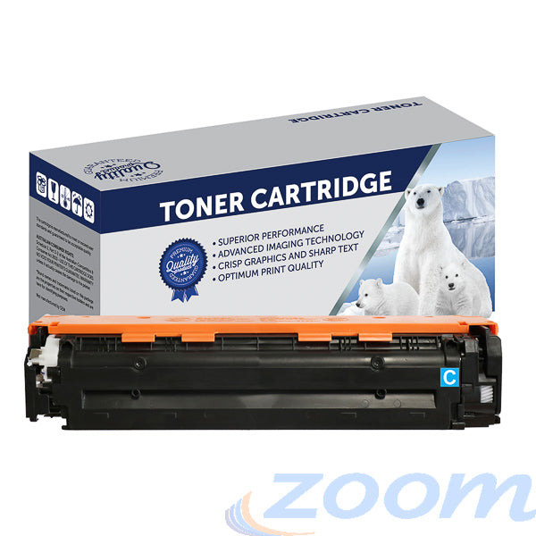 Premium Compatible HP CF211A, #131 Cyan Toner Cartridge