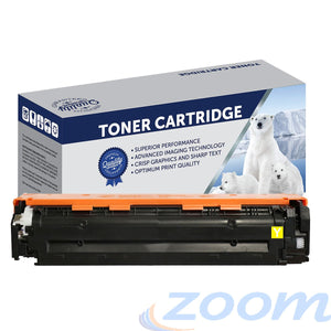 Premium Compatible HP CB542A, #125 Yellow Toner Cartridge