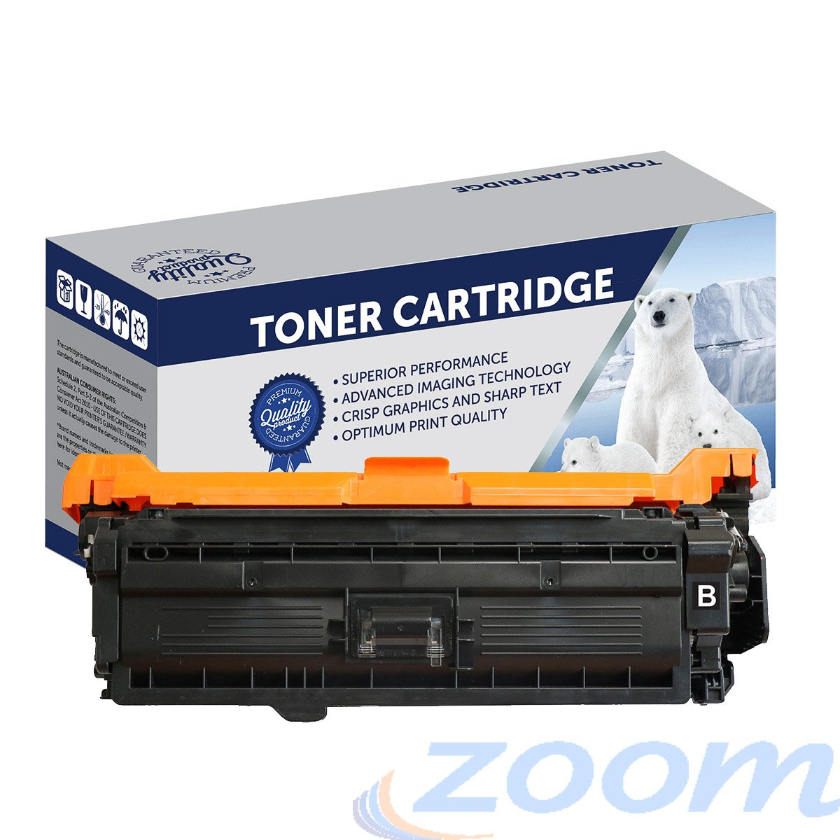 Premium Compatible Canon CART323BKII Black High Yield Laser Toner