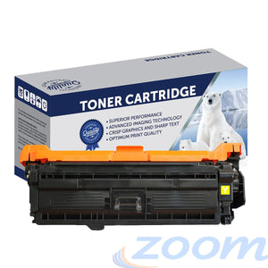 Premium Compatible HP CE252A, #504 Yellow Toner Cartridge